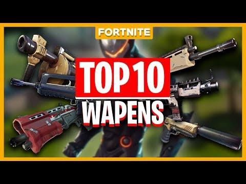 TOP 10 BESTE WAPENS IN FORTNITE?! - Fortnite