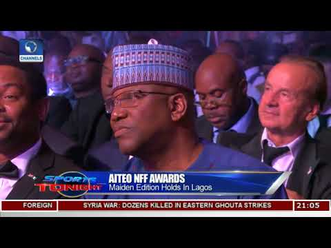 Channels Television Wins Maiden AITEO/NFF Award |Sports Tonight|