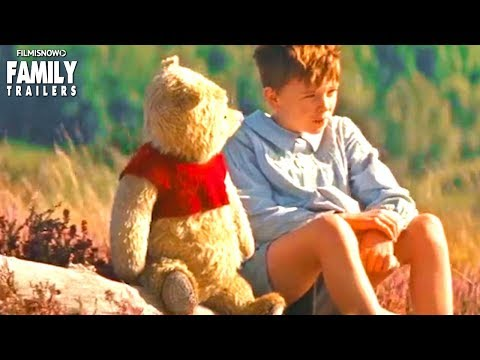 CHRISTOPHER ROBIN I New Cute Clip & Trailer for Winnie The Pooh Disney Family Movie