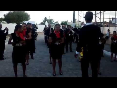 Apresentação da Banda da Assembléia de Deus Missão em Caiçara PB, 11/10/2015