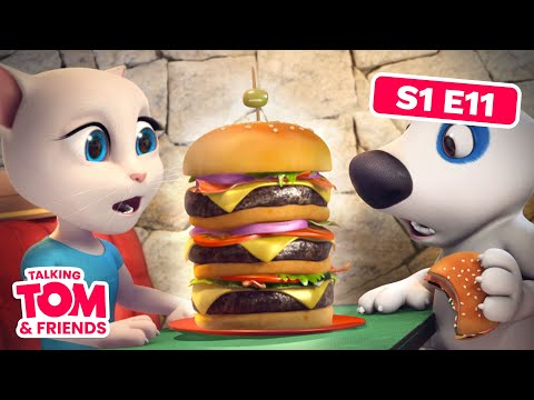 Talking Tom and Friends - Hank the Millionaire (Episode 11) (видео)
