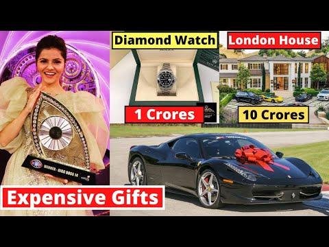 10 Most Expensive Gifts Of Rubina Dilaik Bigg Boss Season 14 Winner