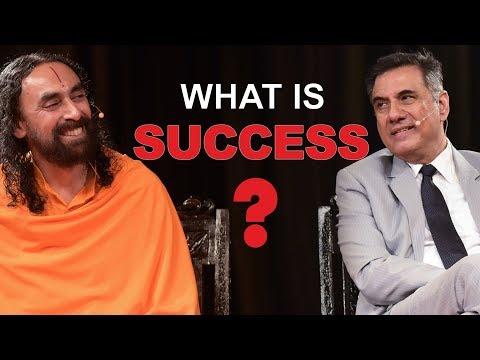 Success quotes - What is Success?  Swami Mukundananda and Boman Irani Explain Success