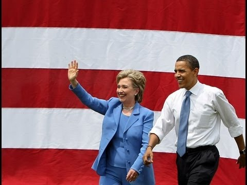 Obama and Hillary - Best Friends Forever?