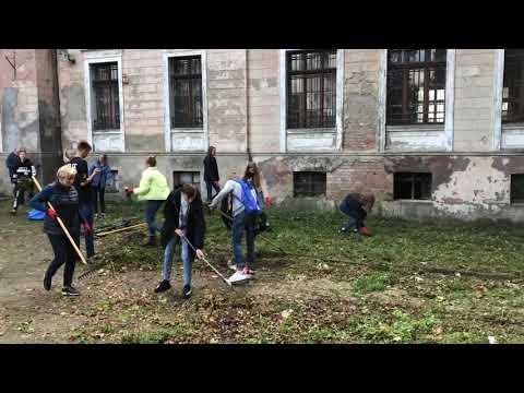 Wideo1: Akcja sprzątania dworca kolejowego we Wschowie