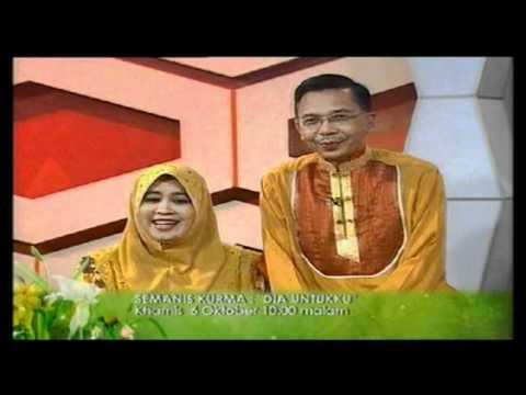 Promo Semanis Kurma – Dia Untukku (Raudhah) @ Tv9! (6/10/2011)