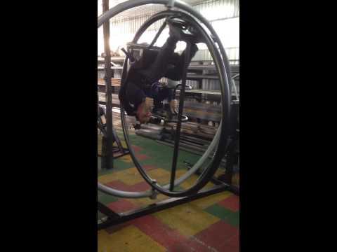 Тренажер гироскоп сделай сам
