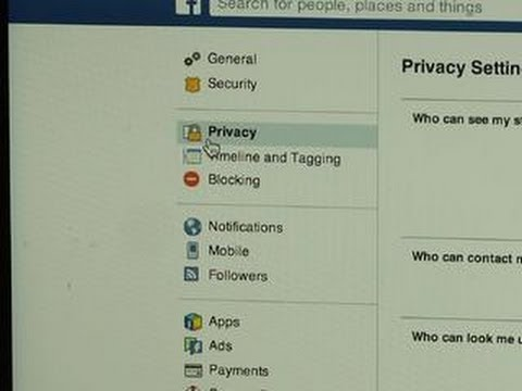 how to privacy facebook
