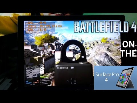 Battlefield 4 on Surface Pro 4 i5 8gb ram