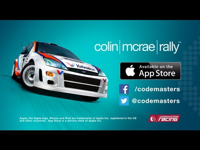 Colin McRae Rally - Out Now on iOS