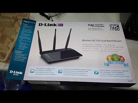 UNBOXING - ROTEADOR         D-LINK DIR-809 - Ligando Direto No Modem Vivo Fibra 50 MB