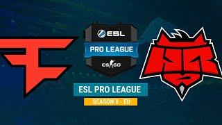 FaZe vs HellRaisers - ESL Pro League S8 EU - bo1 - de_overpass [MintGod]