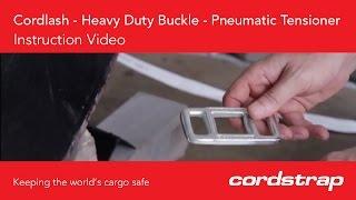 Cordstrap | 6 Cordlash + Heavy Duty Buckle + Pneumatic Tensioner
