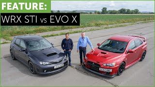 Video Subaru Impreza WRX STI Cosworth CS400 VS Mitsubishi Lancer EVO X FQ400 w/ DRAG RACE MP3, 3GP, MP4, WEBM, AVI, FLV Oktober 2018