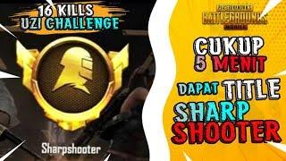 TERBONGKAR!! Cara dapat Title Sharpshooter dalam 5 MENIT