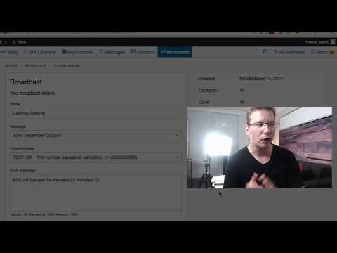 Send SMS Messages From Your WordPress Admin