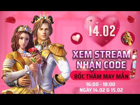 """Livestream Giải đấu """" Cặp Đôi Hoàn Hảo """" - Valentine Free Fire - Ngày 1 - Thời lượng: 1:58:15."""
