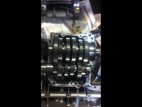 Suzuki GSXR 750 -00 gearbox