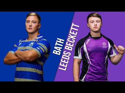 BUCS Super Rugby: Bath Vs Leeds Beckett