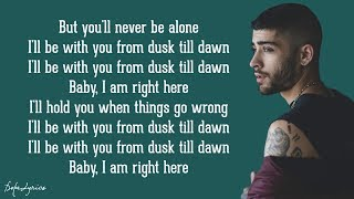 Video Dusk Till Dawn - ZAYN ft. Sia (Lyrics) MP3, 3GP, MP4, WEBM, AVI, FLV Mei 2018