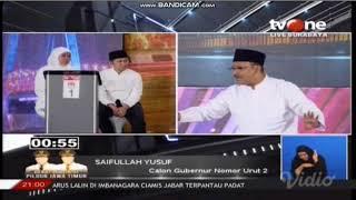 Video Serangan Tajam Khofifah Bikin Gus Ipul Emosi di Debat Pilgub Jatim III MP3, 3GP, MP4, WEBM, AVI, FLV Juli 2018