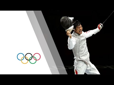 fencing - Highlights as Lei Sheng Win's the Men's Individual Foil Gold during the London 2012 Olympic Games. Fencing was included for the first time at the 1896 Games ...