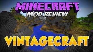 VINTAGECRAFT MOD 1.8   ¡Cambia todo el mundo de Minecraft!   Review en Español
