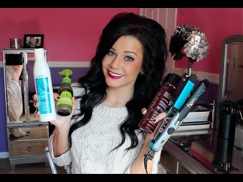 favourite hair products - OPEN ME FORE MORE INFO!  NEW VLOG CHANNEL: http://www.youtube.com/LaVitaDiMeg  FOLLOW ME on TWITTER: http://twitter.com/#!/ciaoobelllaxo  LIKE My Facebook...
