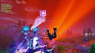 Fortnite Marshmello Full Live Concert Event Encore With Subscribers! (1080p 60fps PS4 Pro)