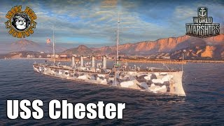 Chester (CA) United States  City pictures : World of Warships: USS Chester Gameplay