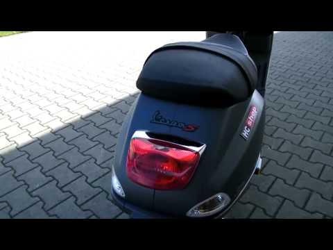 probefahrt vespa s 50 2t 2010 roller videos custom. Black Bedroom Furniture Sets. Home Design Ideas
