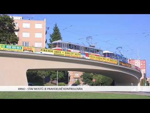 TV Brno 1: 6.12.2017 Stav mostů je pravidelně kontrolován
