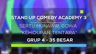 Video Stand Up Comedy Academy 3 : Sertu Munawir, Gowa - Kehidupan Tentara MP3, 3GP, MP4, WEBM, AVI, FLV Februari 2018