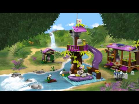 LEGO Friends - Mentőbázis a dzsungelben