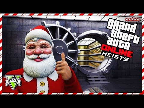 GTA 5 Online CHRISTMAS HEISTS Jobs!! – GTA V Online AIRCRAFT CARRIER Heist! – 12 Days Of Christmas