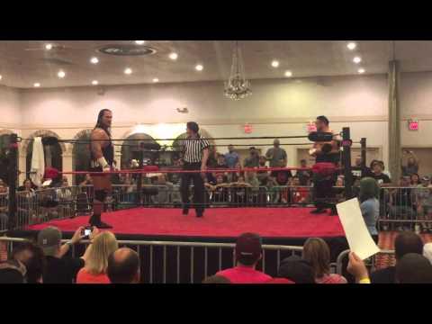 Rhyno vs Samoa Joe - 5/9/15 - XICW Championship Match