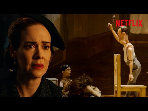 Ratched's Life Story Told By Puppets - Full Scene   Netflix