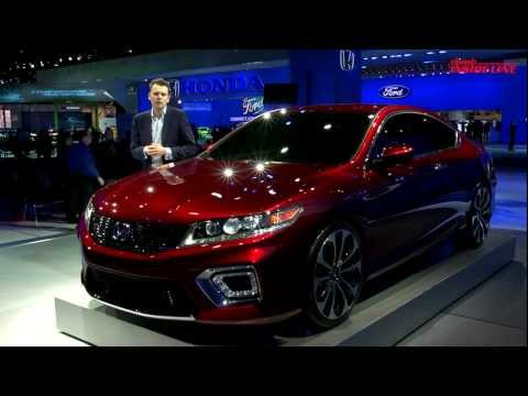 2013 Honda Accord Coupe Concept -- 2012 Detroit Auto Show