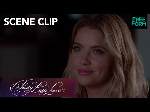 Pretty Little Liars | Season 7 Episode 17: Caleb Tells Ashley He Wants to Marry Hanna | Freeform
