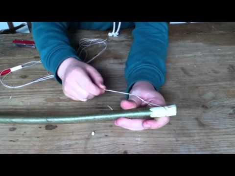 Basteln Anleitung: Bogen selber machen – einen Bogen selber basteln