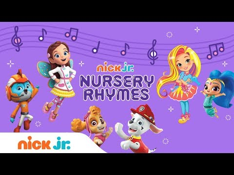 Sing-Along Nursery Rhyme Song with Sunny Day, Butterbean Café, PAW Patrol, & More | Nick Jr.