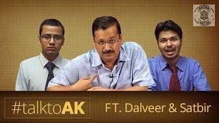Video Nazar Battu - Exclusive Arvind Kejriwal Interview By Dalveer-Satbeer #TalkToAK MP3, 3GP, MP4, WEBM, AVI, FLV Januari 2018