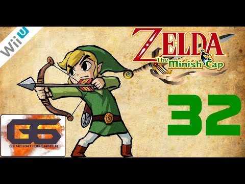 The Legend of Zelda : The Minish Cap Wii U