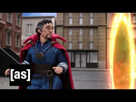 Doctor Strange Leaves the Portal Open