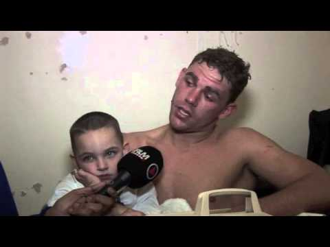 BILLY JOE SAUNDERS READY TO FIGHT JOHN RYDER NOW AFTER MATTHEW HALL WIN / POST-FIGHT INTERVIEW