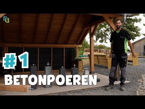 Woodvision | Betonpoer Basic voor paal 12-20 cm