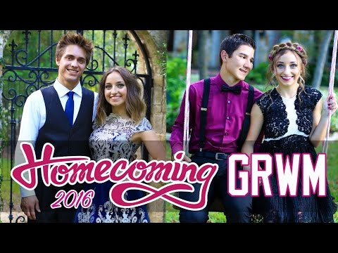 """""""Get Ready With Me"""" HOMECOMING 2016 