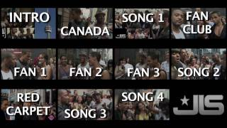 FOLLOW JLS THROUGH CANADA - Watch JLS Walk The Red Carpet