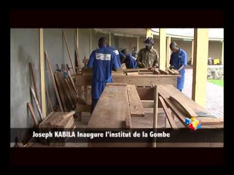 TÉLÉ 24 LIVE: Joseph KABILA inaugure l'institut de la Gombe