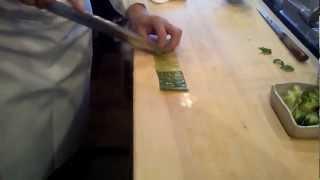 Chef Cutting Cucumber Will Amaze You!